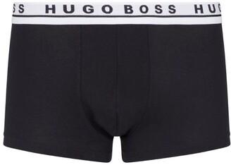 HUGO BOSS Logo Waistband Trunks (Pack Of 3)