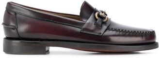 Sebago horse-bit embellished loafers