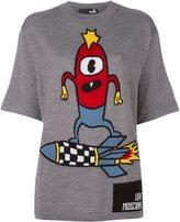 Love Moschino rocket surf T-shirt