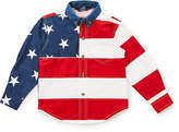 Roper Red & Blue Stars & Stripes Button-Up - Boys