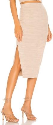 Lovers + Friends Tavia Midi Skirt