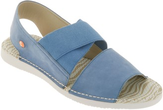 Fly London Softinos by Cross-band Sandals - Tin