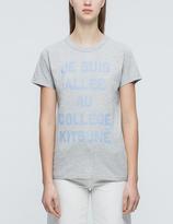 MAISON KITSUNÉ Je Suis Allee T-Shirt