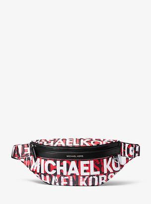 Michael Kors Greyson Graphic Logo Sling Pack