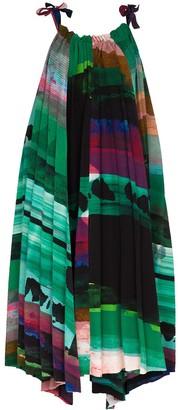 Issey Miyake Ahlder A-line midi dress