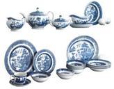Johnson Bros. 'Willow Blue' 20-Piece Dinnerware Set
