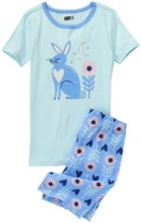 Crazy 8 Bunny 2-Piece Shortie Pajama Set