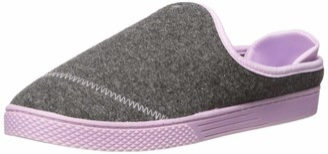 Dearfoams Womens Wool Inspired Clog Slipper