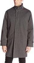 Calvin Klein Men's Cutler Herringbone Raincoat with Removable Liner
