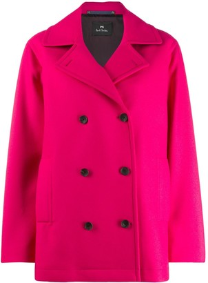 Paul Smith Double-Breasted Buttoned Coat