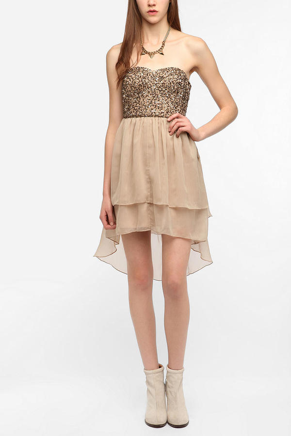 Urban Outfitters Thistlepearl The Nightengale Dress