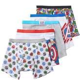 Marvel Boys 4-8 Avengers 5-Pack Boxer Briefs