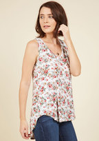 Freeloader Infinite Options Tank Top in Ivory Floral