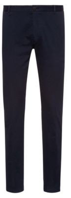 Extra-slim-fit pants in overdyed stretch cotton