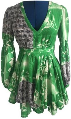 Matthew Williamson Green Wool Dress for Women