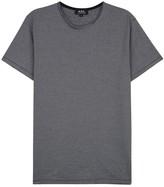 A.p.c. Stitch Striped Cotton T-shirt