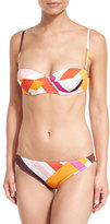 Emilio Pucci Parioli-Printed Two-Piece Bikini Set