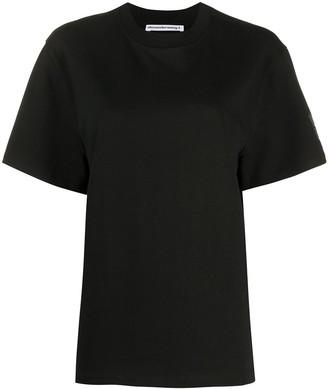 Alexander Wang raised logo relaxed-fit T-shirt