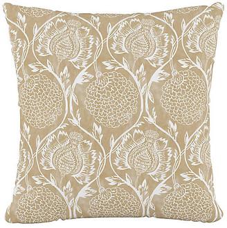 One Kings Lane Ranait Pillow - Flax