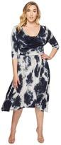 Kiyonna Draped in Class Dress Women's Dress