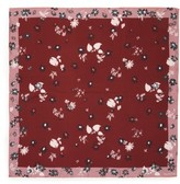 Valentino Women's Flowers Fall Silk Scarf
