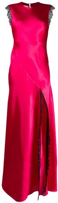Philosophy di Lorenzo Serafini sleeveless satin gown