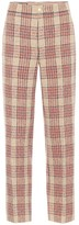 Gucci Checked wool-blend pants