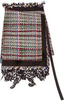 Sacai Assymetric Summer Tweed Skort