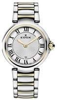 Edox Women's 57002 357RM AR LaPassion Analog Display Swiss Quartz Two Tone Watch