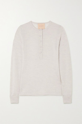 Roksanda Rishi Merino Wool Sweater - Gray
