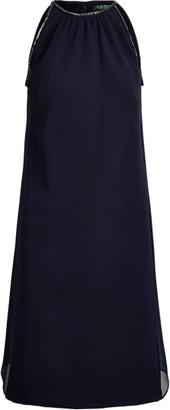 Ralph Lauren Sleeveless Crepe Dress