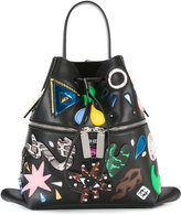 Kenzo Rizo backpack - women - Leather/Resin/PVC/polyurethane - One Size