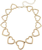 Stella & Ruby Rope Heart Necklace