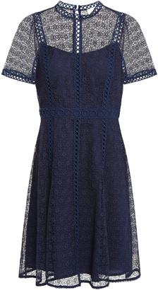 MICHAEL Michael Kors Leavers Lace Mini Dress