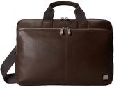Knomo London - Newbury Leather Laptop Briefcase Briefcase Bags
