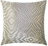Kevin OBrien Kevin O'Brien Op Art Velvet Pillow