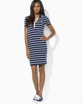 Lauren Ralph Lauren Petites Stripe Polo Dress
