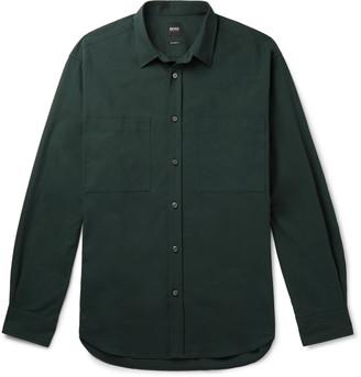 HUGO BOSS Noah Cotton-Twill Overshirt