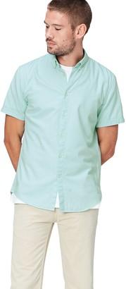 Find. Amazon Brand Men's Slim Fit Cotton Short Sleeve Shirt