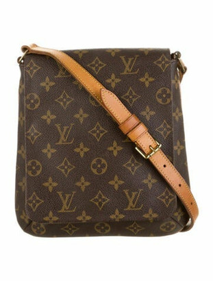 Louis Vuitton Vintage Monogram Musette Salsa PM Brown