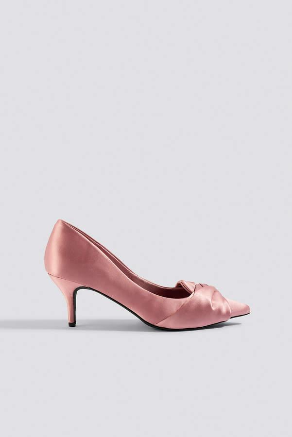 a0d724dd7ba Satin Court Shoes Pink
