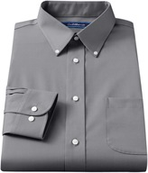 Croft & Barrow Big & Tall Classic-Fit Solid Broadcloth Button-Down Collar Dress Shirt