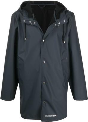 Stutterheim Drawstring Hooded Raincoat