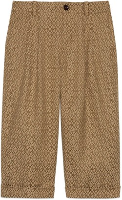 Gucci Children's diamond GG cotton pant