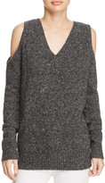 Rebecca Minkoff Page Cold-Shoulder Sweater