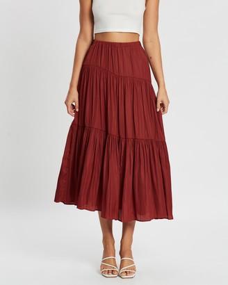 Atmos & Here Spliced Skirt