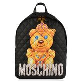 Moschino Quilted Bear Backpack