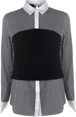 KENDALL + KYLIE Kendall Womens Bustier Shirt