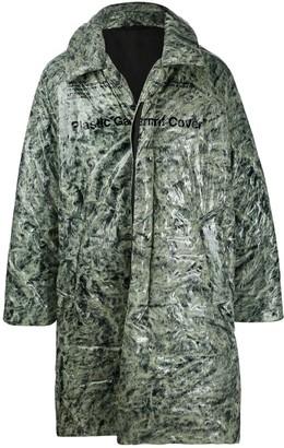 Doublet Fur Print Coat