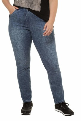 Ulla Popken Women's Leo Straight Jeans